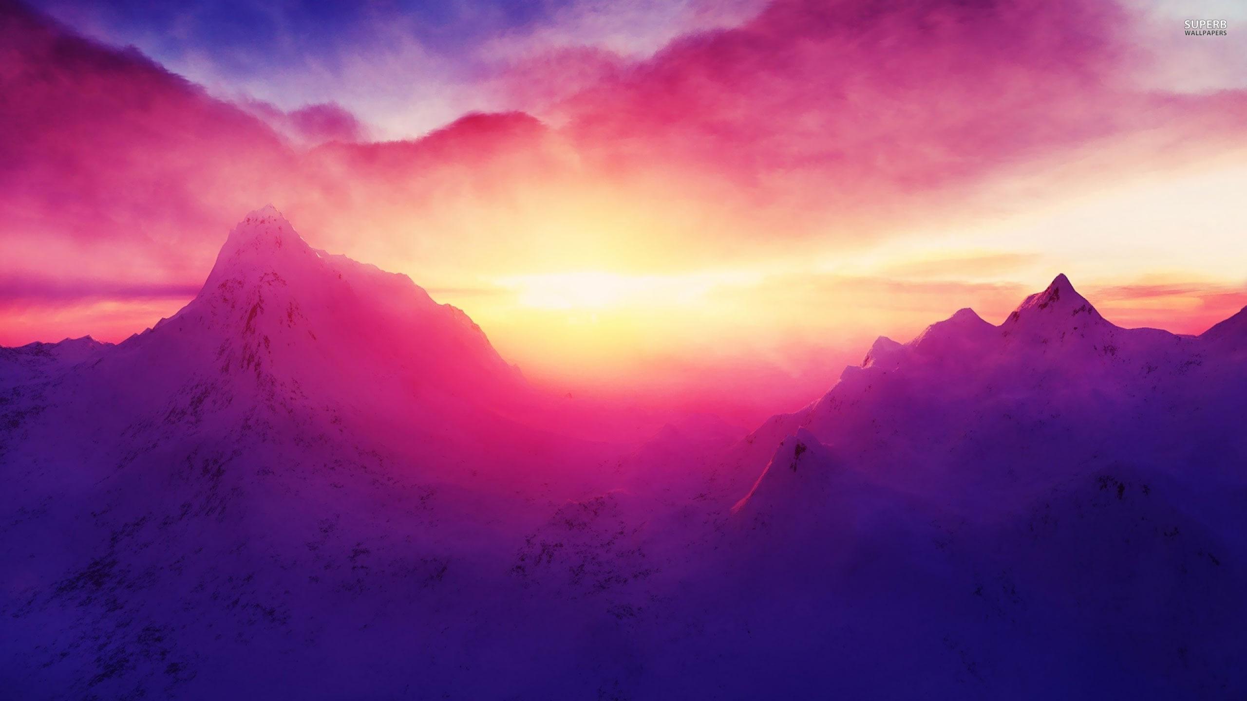 Mountain Sunrise 18614 25601440 Experimente în Sisteme